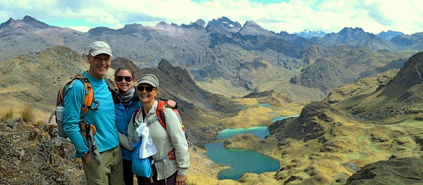 Lares Trek  Route